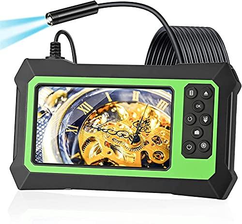 Kettles Videocamera Endoscopio 1080P Dual Lens Telecamera di ispezione HD con 8 Cavo Luminoso a LED Regolabile e 32 GB TF Card per l ispezione delle fogne per Auto industriali industriali