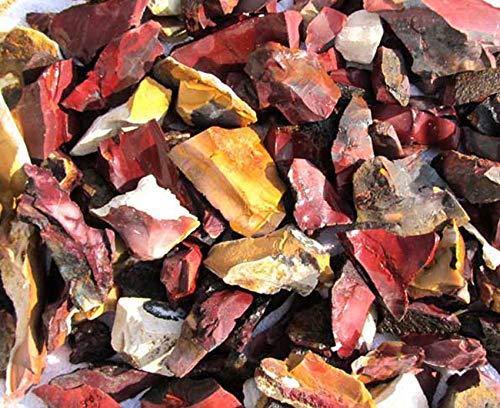 Edel-Depot Mookait 400g. Rohsteine Minerale Wasseraufbereitung, ab 3 cm