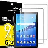 """NEW'C 2 Pezzi, Vetro Temperato per Tablet Huawei MediaPad T5 10.1"""", Pellicola Prottetiva Anti Graffio, Anti-Impronte, Senza Bolle, Durezza 9H, 0,33mm Ultra Trasparente, Ultra Resistente"""