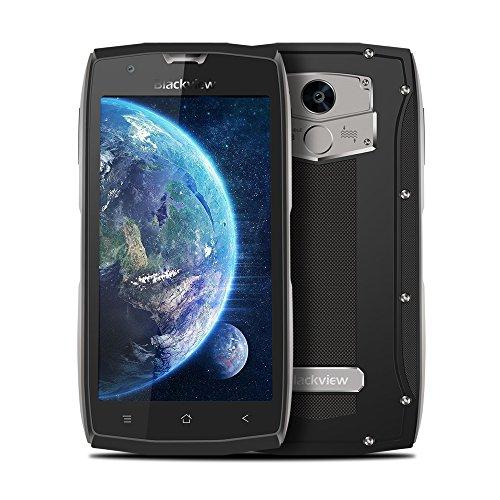 "Outdoor Smartphone, Blackview BV7000 IP68 Resistente al Agua, Golpes y Polvo, 5.0""FHD IPS, 5G Wifi, 2GB RAM + 16GB ROM, 8.0MP + 5.0MP Cámara, Dual SIM, 4G, NFC, Quad-core,Unlocking Fingerprint - Gris"