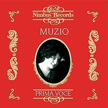 Claudia Muzio (Recorded 1911 - 1935)