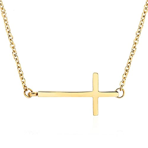Female Gold Cross Amazon Com