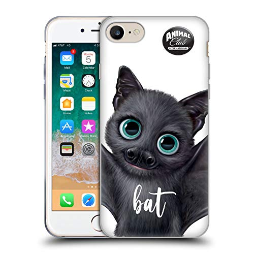 Head Case Designs Oficial Animal Club International Bate Caras Carcasa de Gel de Silicona Compatible con Apple iPhone 7 / iPhone 8 / iPhone SE 2020