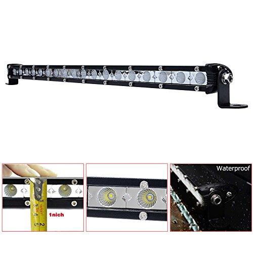 54W LED Phare Barre Led Projecteur Lumières de travail Off-road feux antibrouillard LED Imperméable Lumineux Lampe pour Véhicule Quad SUV Camion Bateau
