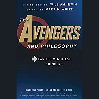 The Avengers and Philosophy audiobook cover art