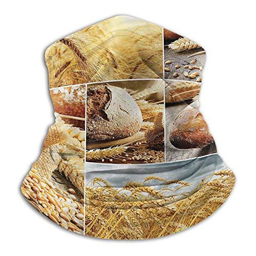 Polainas de cuello para cosecha, protección solar, resistente al viento, pesca, correr, ciclismo, panificación, 25,4 x 30,5 cm