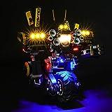 MNVOA Kit di Illuminazione A LED per Lego Ninjago Robot Tellurico, Compatibile con Il Modello Lego 70632 Mattoncini da Costruzioni (Non Incluso nel Modello)