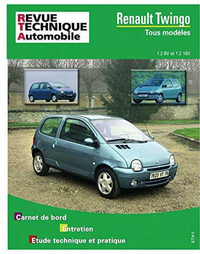 E.T.A.I - Revue Technique Automobile 558.6 - RENAULT TWINGO I - 1993 à 2007