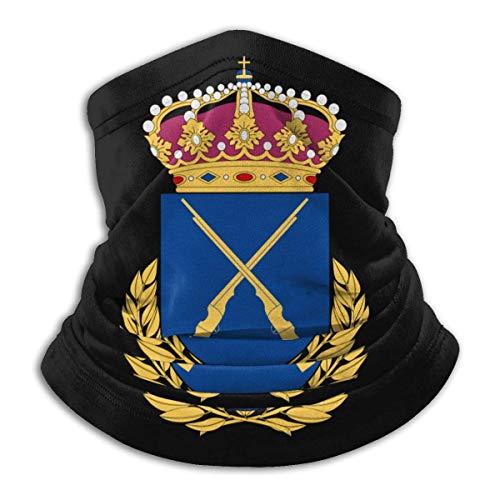 AEMAPE Oficiales de infantería suecos 'College Face Mask Neck Warmer Collar Scarf Bandana Scarf Balaclava