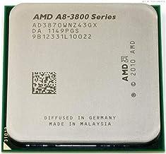AMD A8-Series A8-3870K A8 3870K A8 3870 Quad-Core CPU 3.0G Desktop Set Display APU AD3870WNZ43GX Socket FM1 905pin