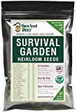 Survival Garden 15,000 Non GMO Heirloom Vegetable Seeds Survival...