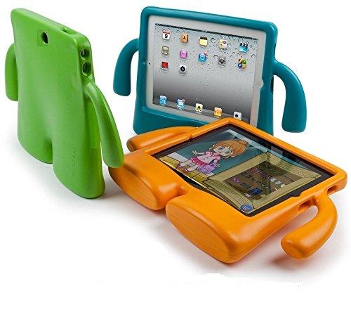 Vendopolis Funda para Tablet 10,1' para NIÑOS Goma Compatible con Samsung Galaxy P7500/P600/TAB 3/P5210/P5200/TAB 4/T530/T531 (Naranja)