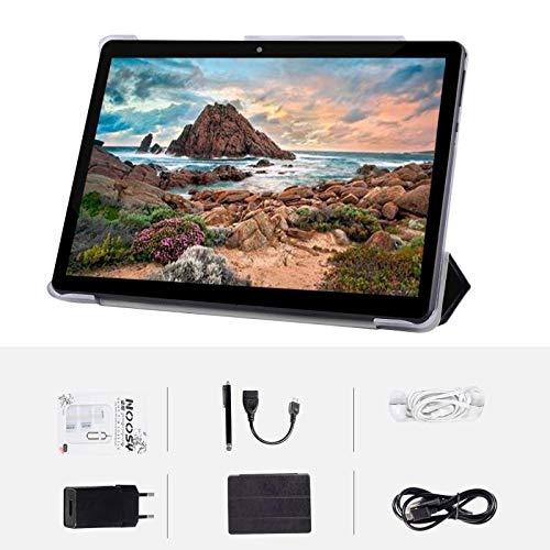 """tablet dragon touch Tablet Android Schermo da 10"""" Quad core RAM 4 GB ROM 64 GB Fotocamera WIFI GPS Due slot per schede SIM Tablet Cellulare con 3G sbloccato (Nero)"""