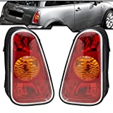 Epic Lighting OE Style Replacement Rear Brake Tail Lights Assemblies Compatible with 2002-2004 Mini Cooper [ MC2800101 MC2801101 63216935783 63216935784 ] Left Driver & Right Passenger Sides Pair