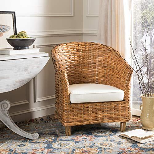Safavieh Home Collection Omni Honey Barrel Chair