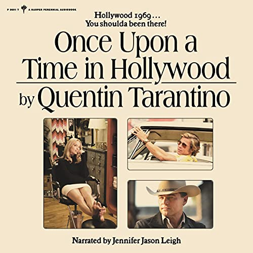Once upon a Time in Hollywood Audiobook By Quentin Tarantino cover art