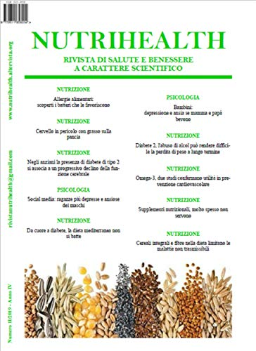 Nutrihealth Febraio 2019 Rivista Di Salute E Benessere Nutrihealth Rivista Di Salute E Benessere Italian Edition Kindle Edition By Roberta Graziano Crafts Hobbies Home Kindle Ebooks Amazon Com