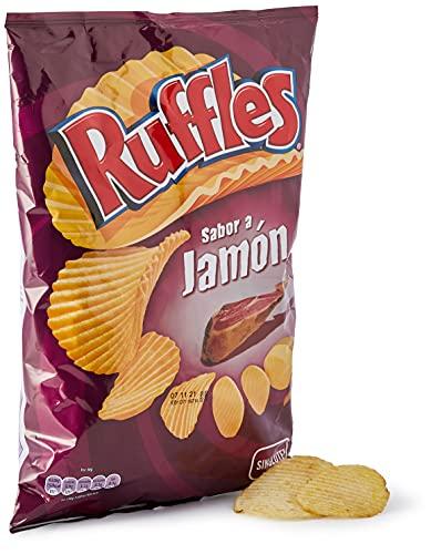 Ruffles Jamon Patatas Fritas, 160g