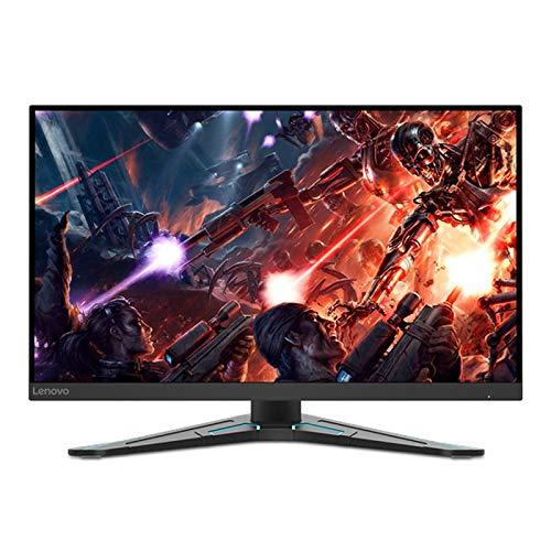Lenovo G27q-20 27 Zoll QHD IPS FreeSync Premium Gaming Monitor 165 Hz 1 ms HDMI+DP mit ultradünnen Kanten und höhenverstellbarer Basis - Tiefschwarz