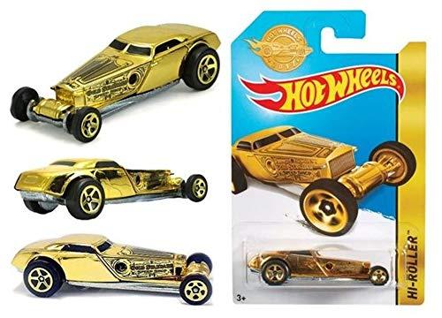 Hot Wheels Mattel 2017 Golden Edition HI-Roller FDT21-K910 - Limited Edition