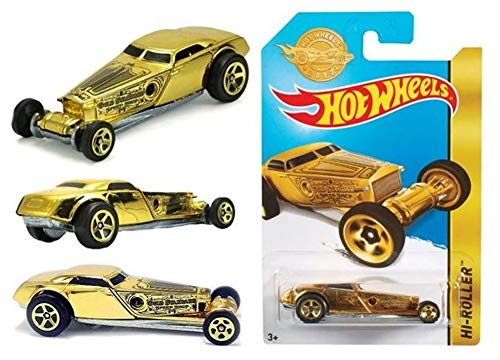 Hot Wheels Mattel 2017 Golden Edition HI-Roller FDT21-K910 - Limited Edition