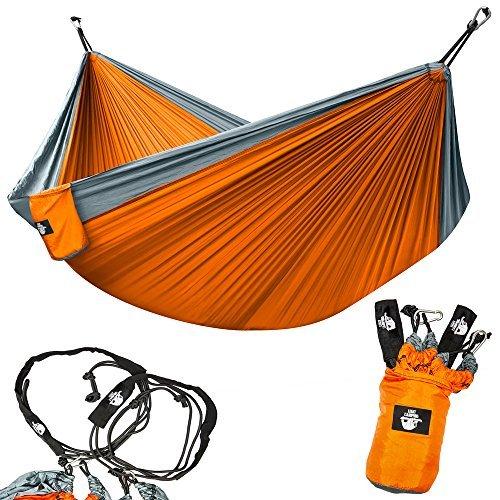 Legit Camping Hammock - Hammocks - 2 Person Hammock - Tree Hammock - Double Hammock - Portable Hammock - Outdoor Hammock - Hammock - Travel Hammock -...