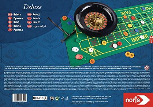 Noris Spiele 606104613 – Roulette – Deluxe Set - 2