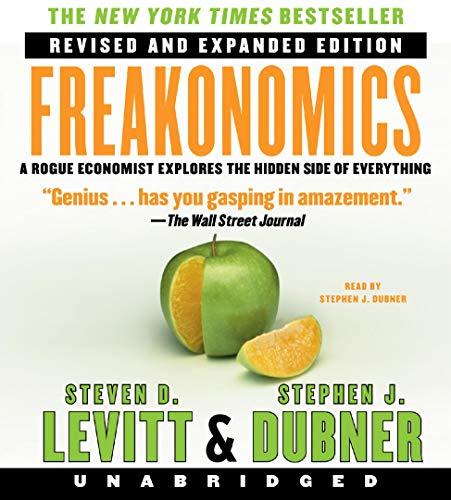 Freakonomics Audiobook By Steven D. Levitt, Stephen J. Dubner cover art