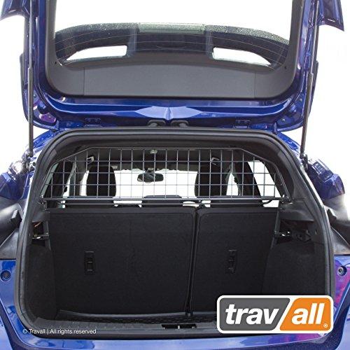 Travall Guard Hundegitter Kompatibel Mit Ford Focus 5 Türer Fließheck (2010-2018) RS (2015-2018) ST (2012-2018) TDG1302 - Maßgeschneidertes Trenngitter in Original Qualität