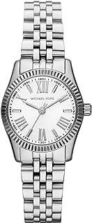 مايكل كورس ليكسينغتون ساعة بيضاء ستانلس ستيل للنساء MK3228