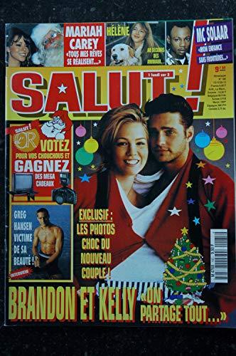 SALUT ! M4768 185 1994 Brandon & Kelly - Greg Hansen - Mariah Carey - Hélène - MC Solaar
