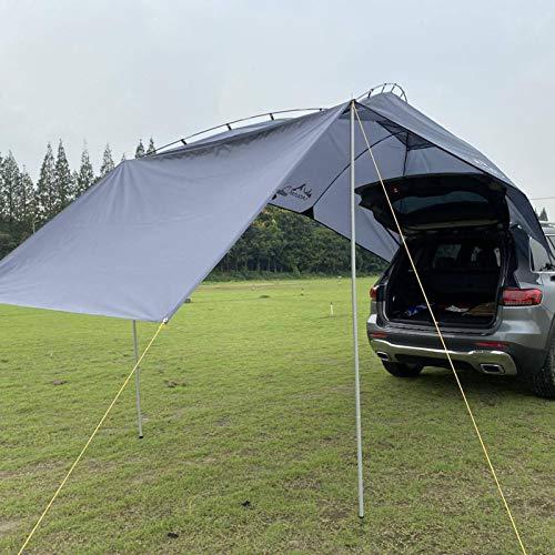 vincente Zelt -Auto dachzelt,Heckzelt Vertic 350x240cm, Auto Kofferraum Zelt mit UV-Schutz & Dark-Coating - Passt für: Campingbus,Wohnwagen, Markise,Sommercamping