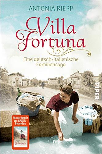 Buchseite und Rezensionen zu 'Villa Fortuna: Eine deutsch-italienische Familiensaga' von Antonia Riepp