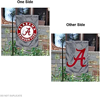 University of Alabama Double Logo Garden Flag and Yard Banner