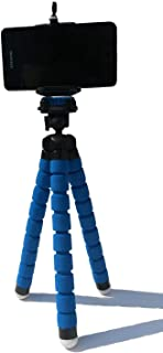 Ozone Universal Octopus Leg Tripod Stand Holder for Mobile Phone and Camera - Blue