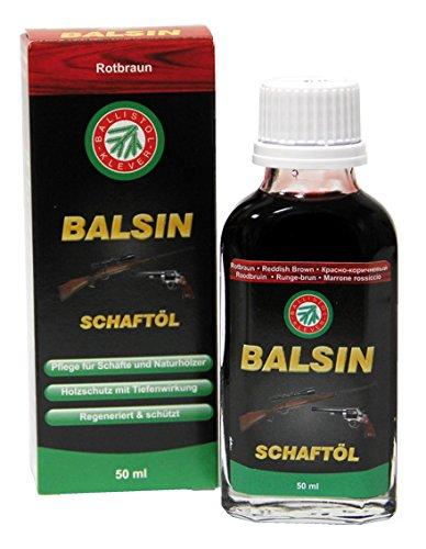 Ballistol Waffenpflege Balsin Schaftöl, rotbraun, 50 ml, 23060