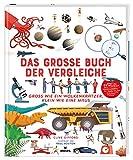 Das große Buch der Vergleiche | Spannendes Sachbuch für Kinder ab 8 Jahren: Groß wie ein Wolkenkratzer, klein wie eine Maus
