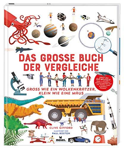 Das große Buch der Vergleiche | Spannendes Sachbuch für Kinder ab 8 Jahren