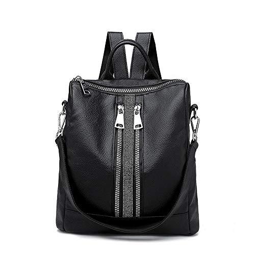 Preisvergleich Produktbild Sxuefang Damen Rucksack,  Plissee Damen Tasche Retro-inspirierten Mode Rucksack 31x14x30cm