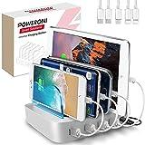 Poweroni USB Charging Station Dock - Fast Charge...