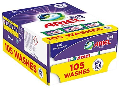 Ariel 3-in-1 Pods Kleur en Stijl - Vloeistofcapsules wassen - 105 Wassen