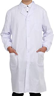 Pinkpum Lab Coat Professionally Designed Unisex White