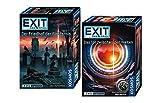 EXIT - El juego: cementerio de la oscuridad + la puerta entre los mundos (nivel: avanzado), Escape Room juegos a partir de 12 años.