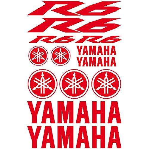 Pegatina Yamaha R6, ref. MOTO-155
