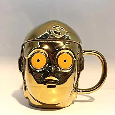 C-3PO Star Wars Mug - 100% Ceramic and toxin free. Perfect for morning coffee or for a gift!