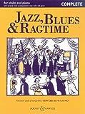 Jazz Blues & Ragtime. Violine, Klavier