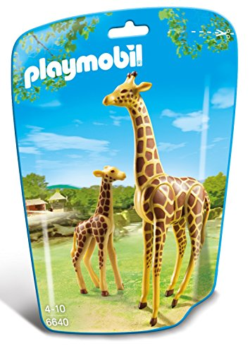 PLAYMOBIL: Jirafa con bebé  66400