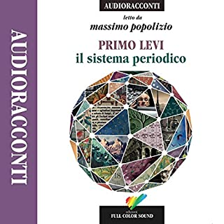 Il sistema periodico audiobook cover art
