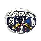 MarryAcc Electrician Tools Belt Buckle Men's Gift, 90mm x 70mm