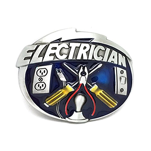 Product Image 1: MarryAcc Electrician Tools Belt Buckle Men's Gift, 90mm x 70mm